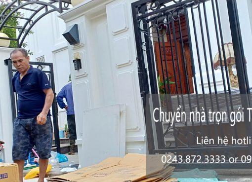 Dịch vụ chuyển nhà trọn gói tại phố Hồ Giám