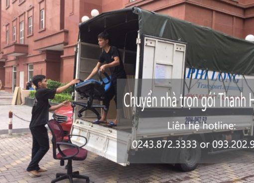 Dịch vụ chuyển nhà trọn gói Thanh Hương tại phố Đông Thái