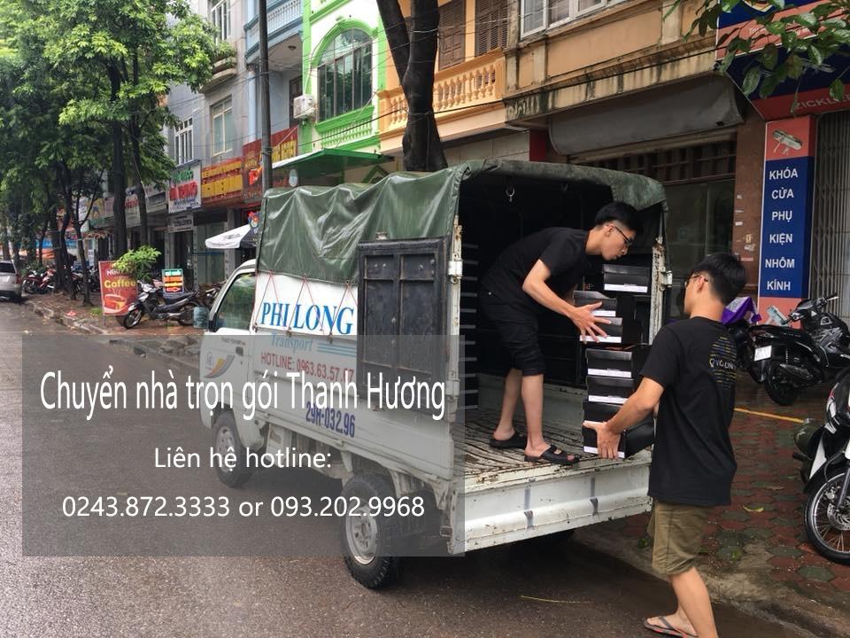 Dịch vụ chuyển nhà trọn gói tại phố Đại Từ
