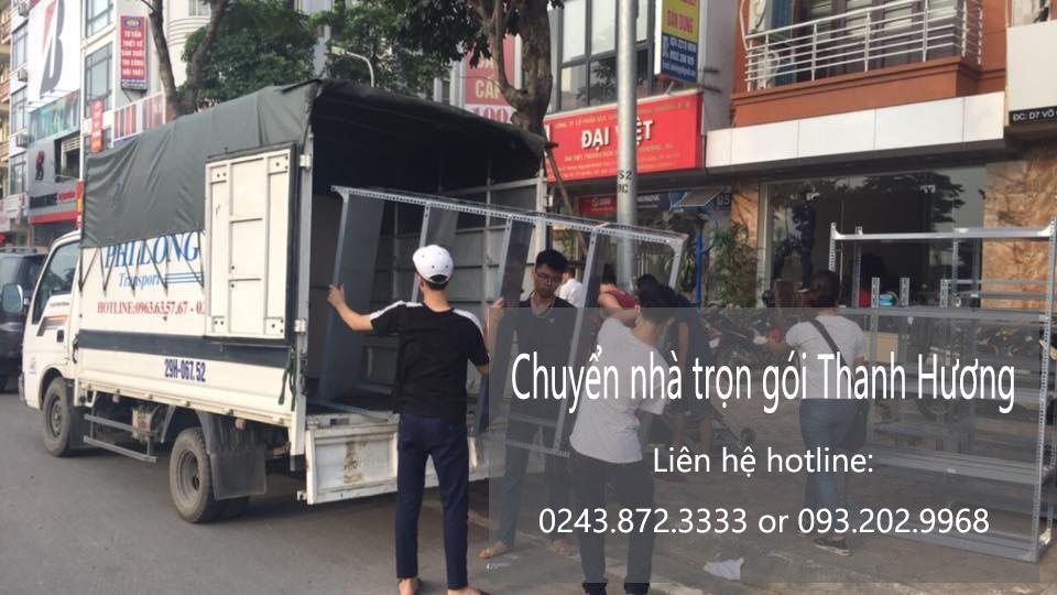 Dịch vụ chuyển nhà giá rẻ tại phố Hoàng Mai