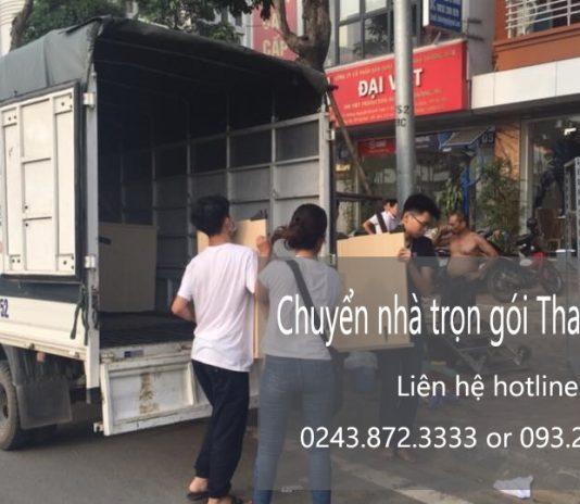 Dịch vụ chuyển nhà trọn gói giá rẻ tại phố Trung Kính