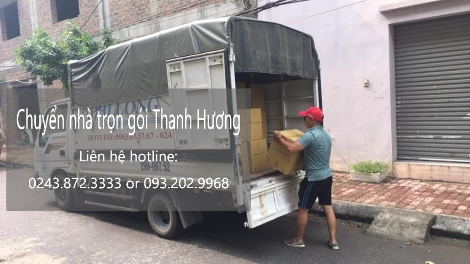 Chuyển nhà trọn gói tại phố Nguyễn Du