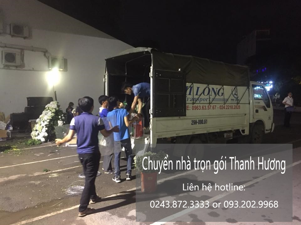 Dịch vụ chuyển nhà trọn gói Thanh Hương tại phố Thịnh Yên