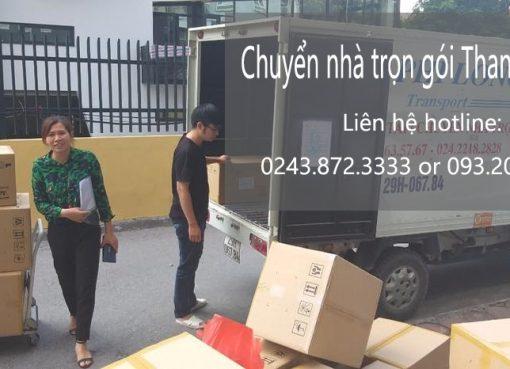 Dịch vụ chuyển nhà từ Hà Nội đi Hải Phòng