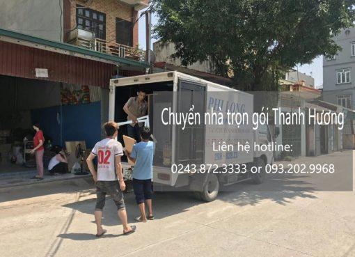 Dịch vụ chuyển nhà trọn gói Thanh Hương tại phố Cửa Nam