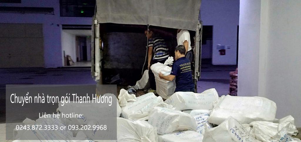 Dịch vụ chuyển nhà trọn gói tại phố Đinh Công Tráng