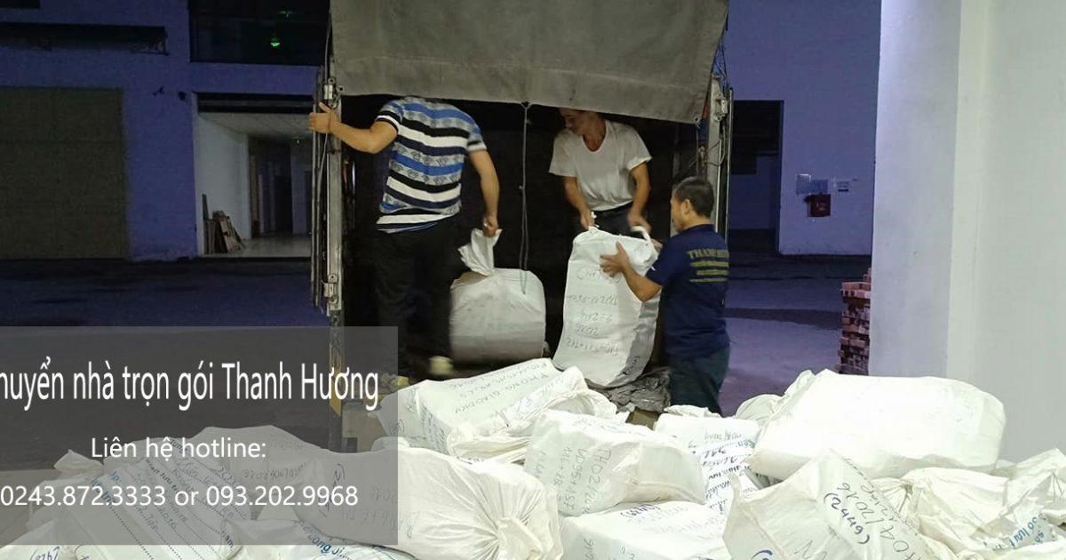 Dịch vụ chuyển nhà trọn gói tại phố Duy Tân