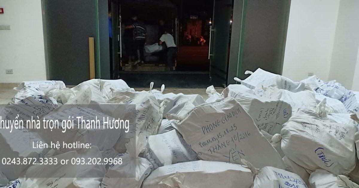 Dịch vụ chuyển nhà trọn gói Thanh Hương tại phố Đông Tác