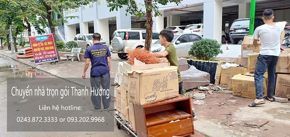 Dịch vụ chuyển nhà trọn gói tại phố Đường Thành