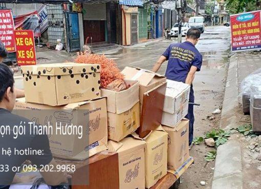 Dịch vụ chuyển nhà trọn gói tại phố Bát Sứ