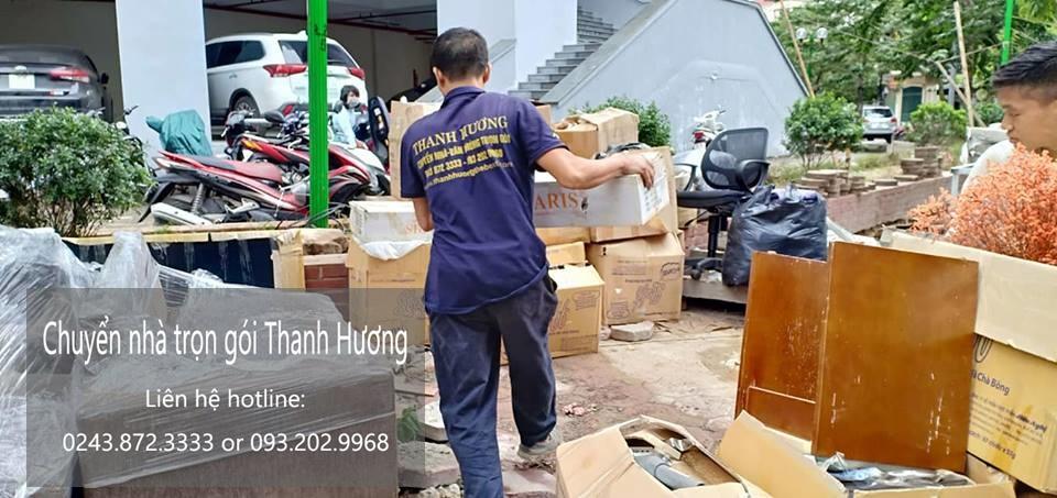 Chuyển nhà Thanh Hương tại phố Đoàn Nhữ Hài
