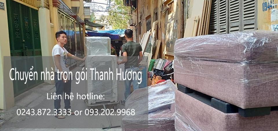 Dịch vụ chuyển nhà trọn gói Thanh Hương tại phố Đặng Vũ Hỷ