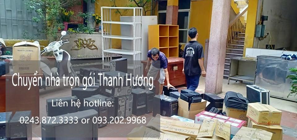 Dịch vụ chuyển nhà trọn gói tại phố Cổng Đục