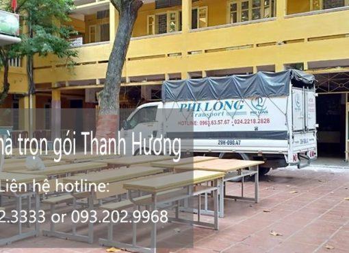 Chuyển nhà trọn gói tại phố Trường Lâm