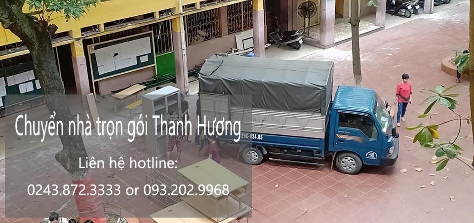 Dịch vụ chuyển nhà trọn gói Thanh Hương tại phố Chu Huy Mân