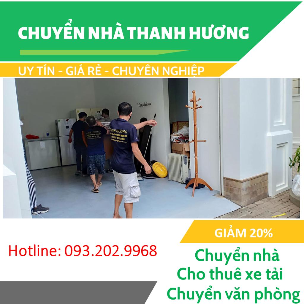 Chuyển nhà Thanh Hương tại phố Nguyễn Lam