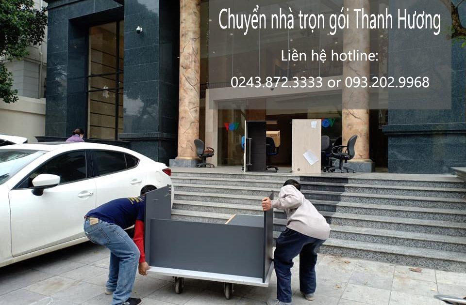 Chuyển nhà trọn gói Thanh Hương tại phố Lò Đúc