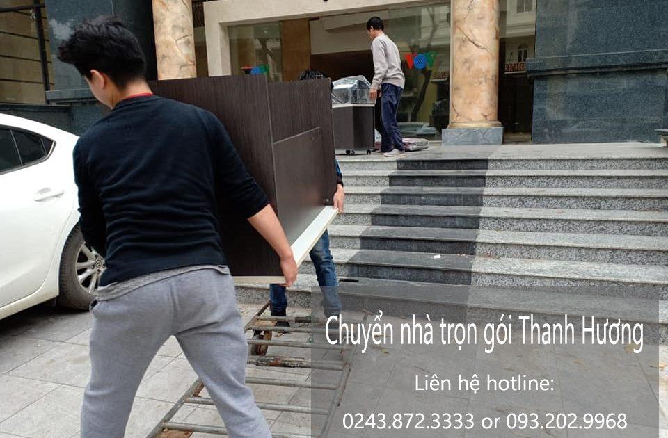 Chuyển nhà trọn gói tại phố Lê Văn Hưu - Tiết kiệm tiền bạc.