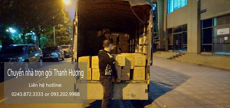Chuyển nhà trọn gói tại phố Phú Thị