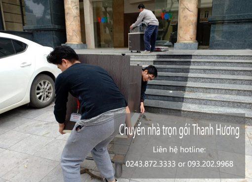 Dịch vụ chuyển nhà trọn gói tại phố Trần Tế Xương
