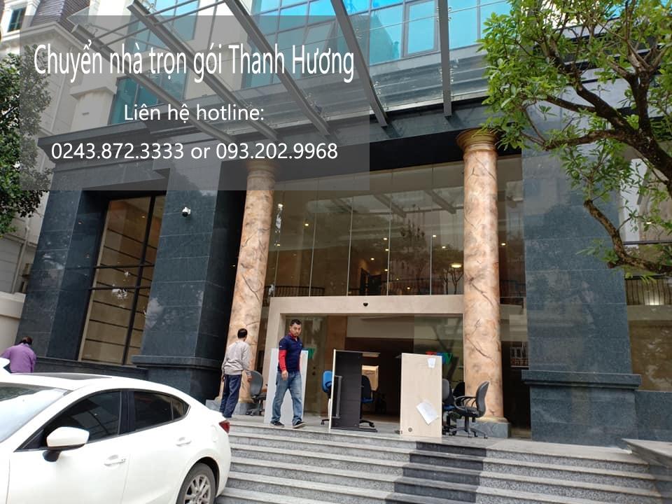 Dịch vụ chuyển nhà trọn gói Thanh Hương tại phố Mạc Thái Tông