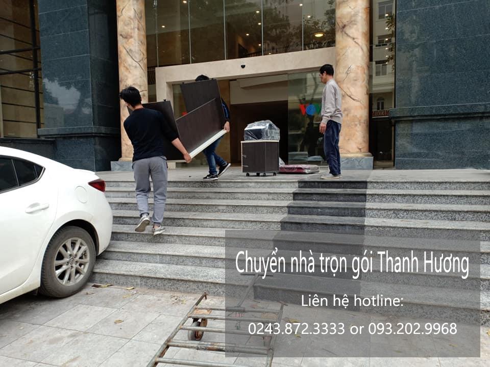 Dịch vụ chuyển nhà trọn gói Thanh Hương tại phố Nguyễn Chánh