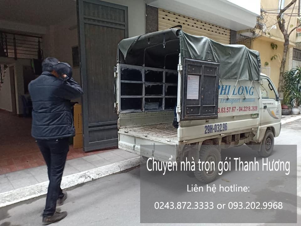 Dịch vụ chuyển nhà trọn gói Thanh Hương tại phố Đa Tốn