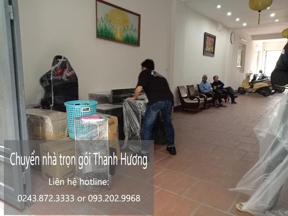 Dịch vụ chuyển nhà Thanh Hương tại phố Ngô Thì Sĩ