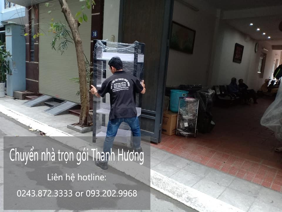 Dịch vụ chuyển nhà trọn gói tại phố Nguyễn Hiền