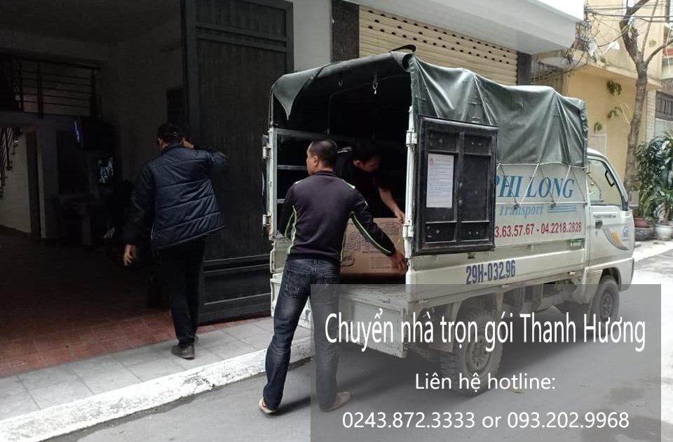 Dịch vụ chuyển nhà tại phố Nguyên Xá