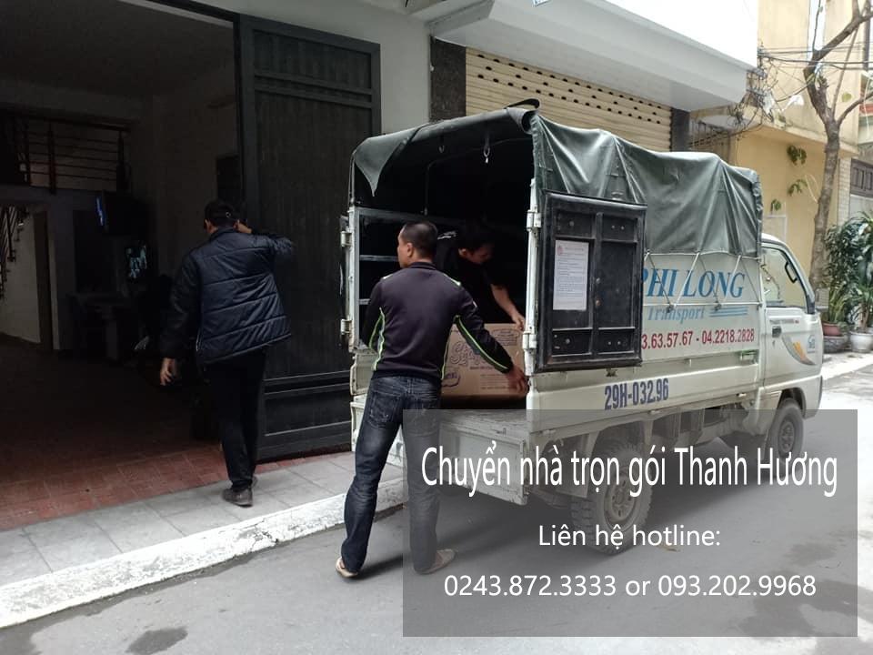 Chuyển nhà trọn gói tại phố Nguyễn Cao