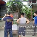 Dịch vụ chuyển nhà trọn gói Thanh Hương tại phố Hạ Yên 2019