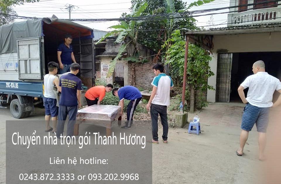 Chuyển nhà trọn gói Thanh Hương tại phố Hàng Bài 2019