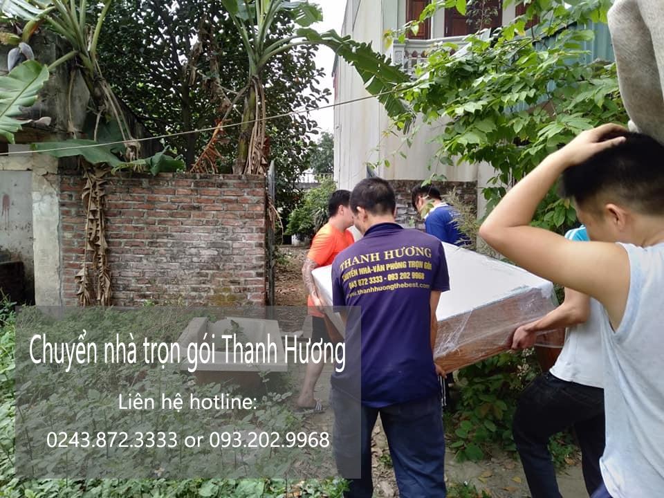 Dịch vụ chuyển nhà Thanh Hương tại phố Hai Bà Trưng 2019