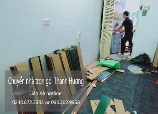 Dịch vụ chuyển nhà Thanh Hương tại phố Lê Văn Hiến