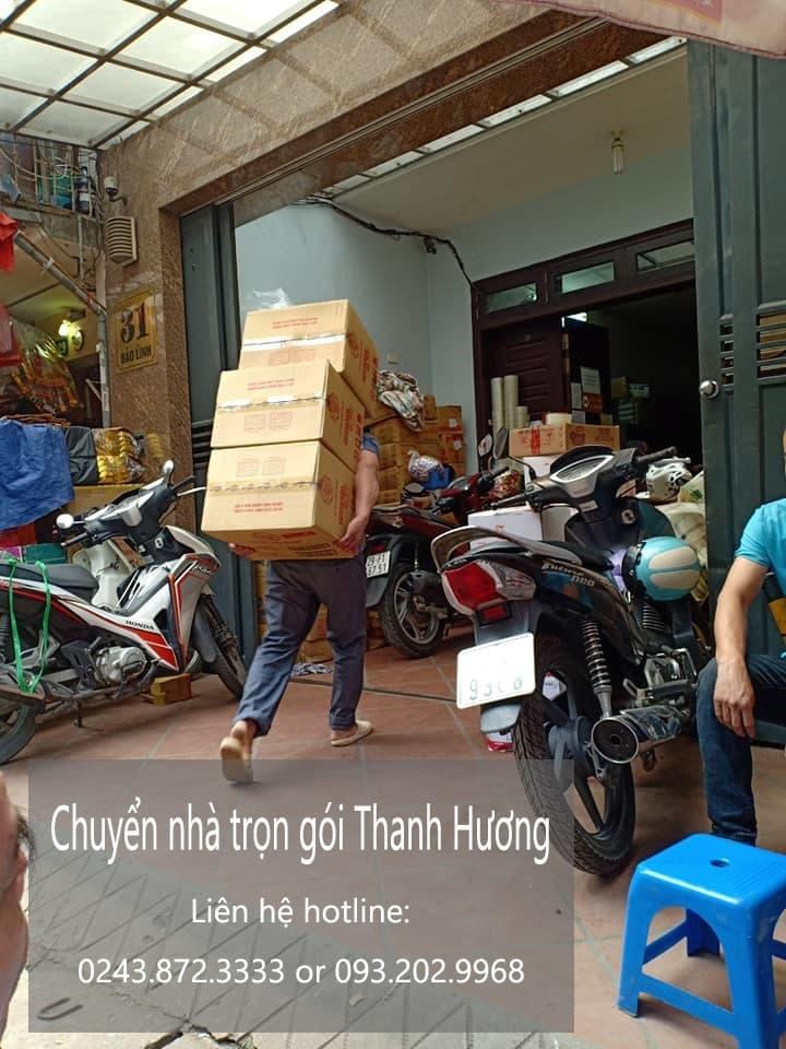 Dịch vụ chuyển nhà trọn gói Thanh Hương tại phố Nhà Hỏa