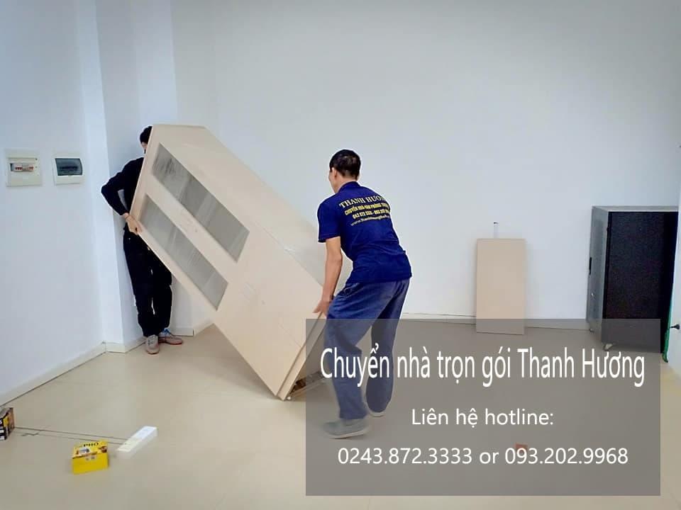 Dịch vụ chuyển nhà trọn gói Thanh Hương tại phố Nguyễn Lương Bằng