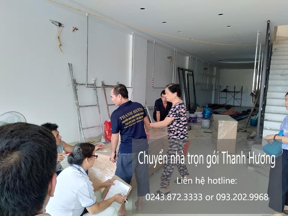 Dịch vụ chuyển nhà trọn gói tại phố Lê Quang Đạo