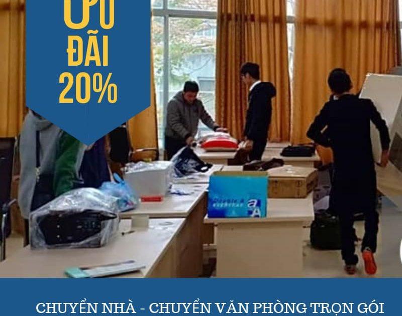 Dịch vụ chuyển nhà trọn gói tại phố Gia Phú