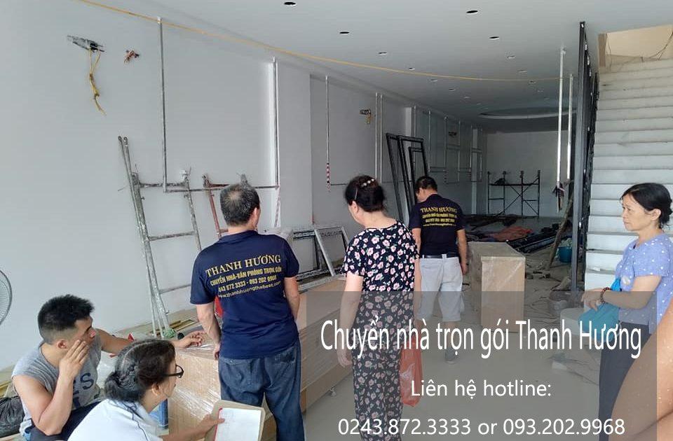 Thanh Hương chuyển văn phòng tại phố Chu Huy Bân
