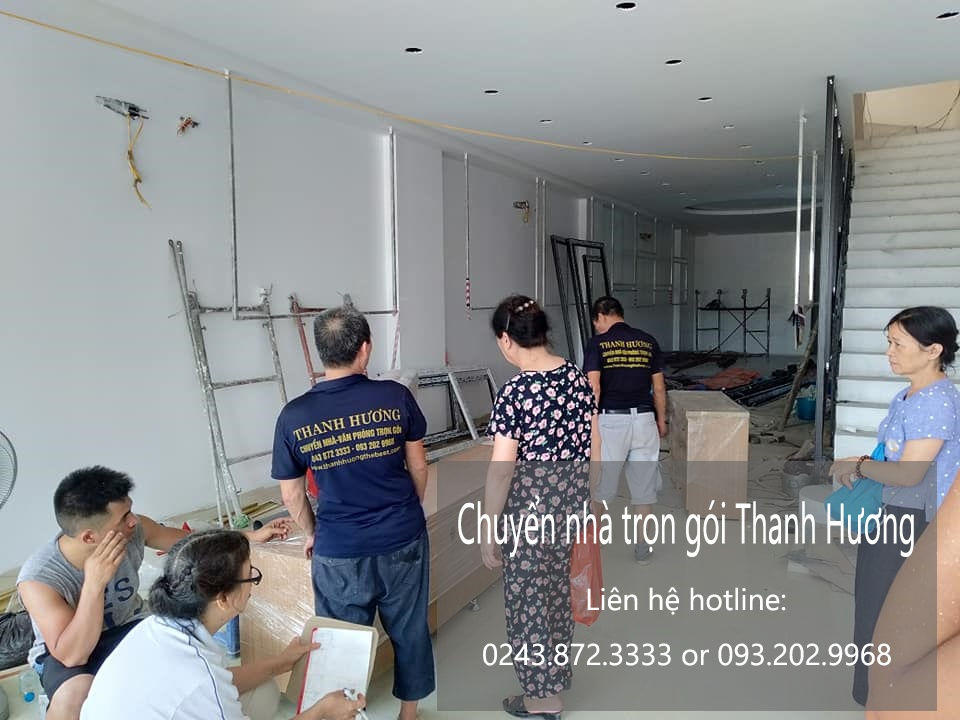 Thanh hương chuyển nhà trọn gói tại phố Hoàng Như Tiếp