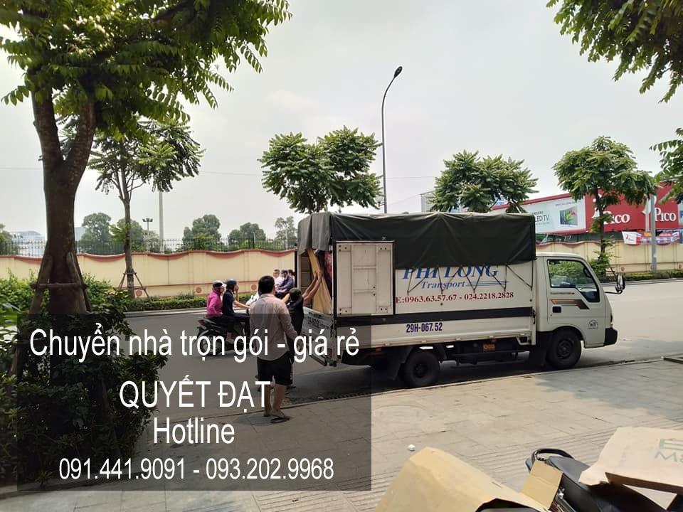 Thanh Hương chuyển văn phòng giá rẻ tại phố Hoa Lâm