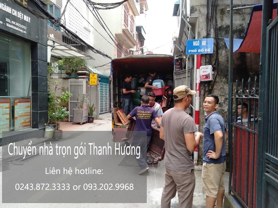 Dịch vụ chuyển nhà tại phố Đặng Xuân Bảng