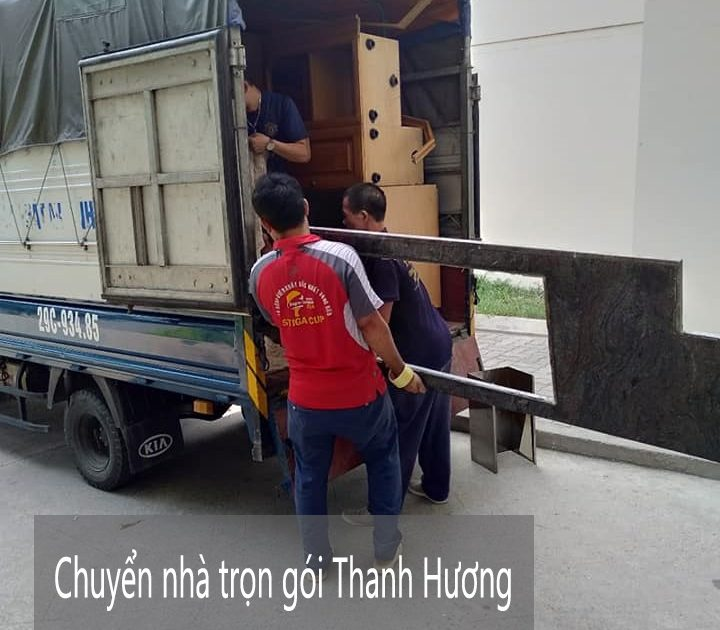 Dịch vụ chuyển nhà tại phố Thanh Đàm