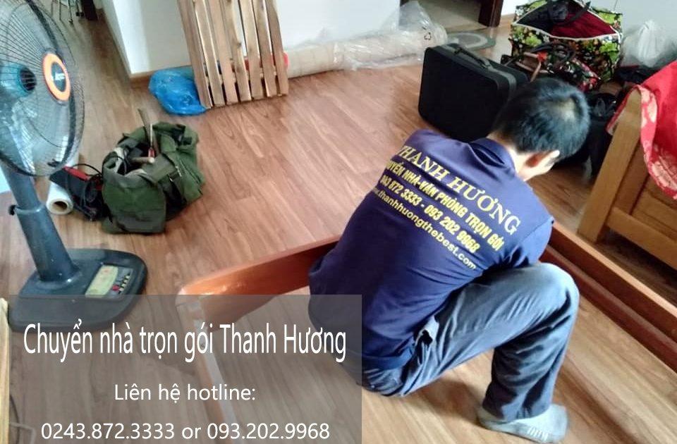 Thanh Hương chuyển nhà giá rẻ tại phố Cao Xuân Huy