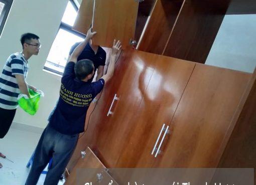 Thanh Hương chuyển nhà chuyên nghiệp tại phố Đình Thôn