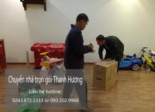 Thanh Hương chuyển nhà uy tín tại phố Đặng Thùy Trâm