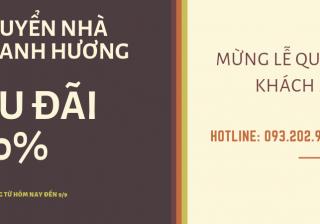 Dịch vụ chuyển nhà tại phố Kim Hoa