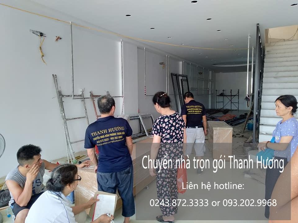Thanh Hương chuyển nhà uy tín tại phố Cầu Bươu