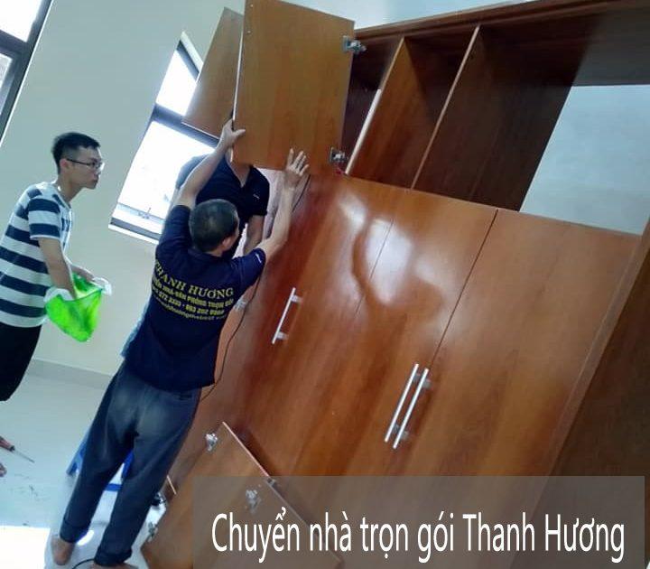 Chuyển nhà chuyên nghiệp Thanh Hương tại phố Đỗ Đức Dục